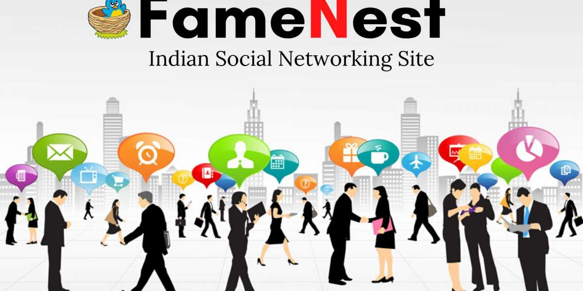 Indian Social Networking App FameNest Introduction