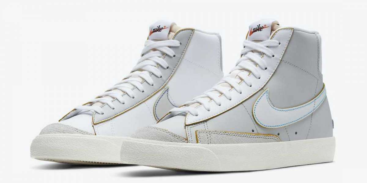 "DC5203-100 Nike Blazer Mid '77 ""Label Maker"" Sneakers release information"