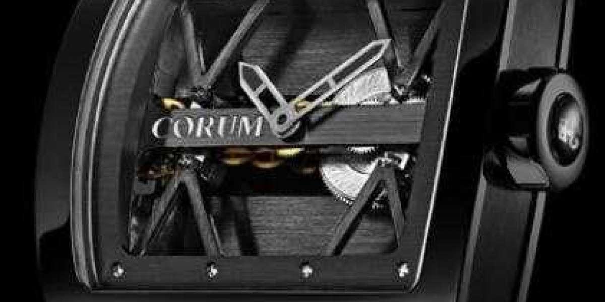 Corum Watch Golden Bridge 39 ROSE GOLD FULL DIAMONDS Replica Ref. B113/03674 - 113.017.85/0F17 DV99R