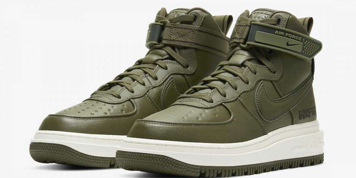 """Nike Air Force 1 Gore-Tex Boot """"Medium Olive"""" To Buy CT2815-201"""