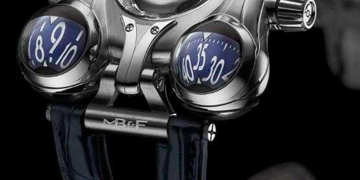 MB&F HM1 Horological Machine N1 White Gold 10.T41WL.S watch