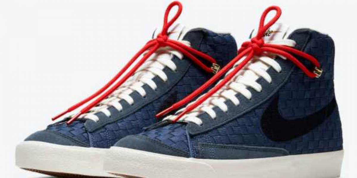 "Most Fashion Nike Blazer Mid 77 ""Sashiko"" Shoes For Sale"