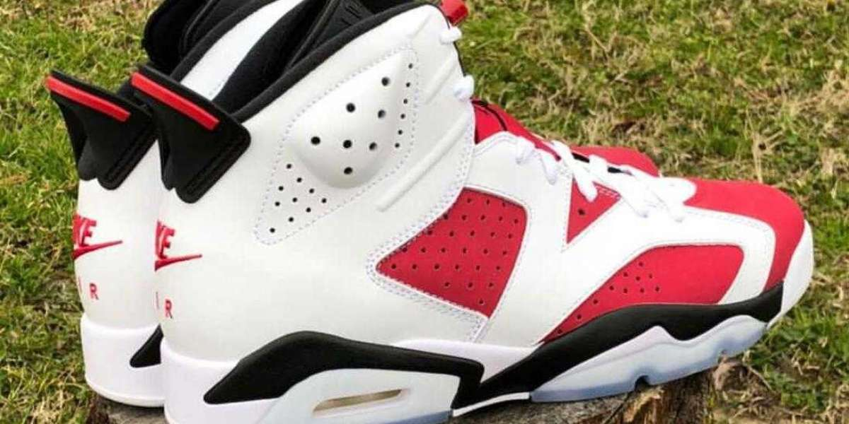 Where to Buy Special Offer Air Jordan 6 Carmine Basketball Shoes ?