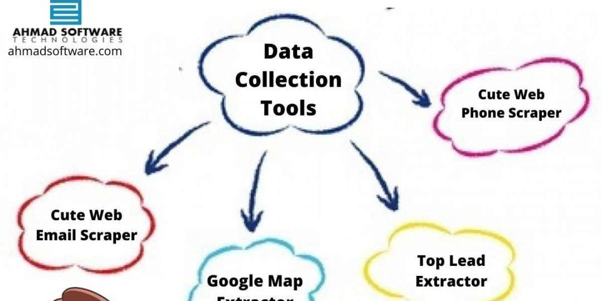 What are some common data collection tools to user data?